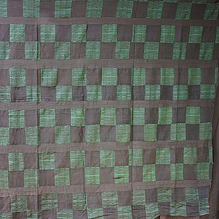 Dark Kente cloth from Ghana 10.07.1144