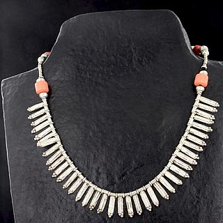 Nice Ethiopian necklace from Kaffa 02.03.514