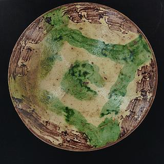 Old deep earthware dish from Pakistan 14.03.1185
