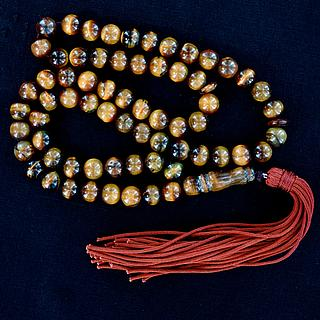 Islamic prayer rosary with tiger eye beads 05.16.1466