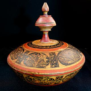 Large decorated spice box, Punjab 09.02.1228