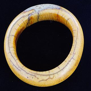 Old ivory bracelet repaired 01.07.1051