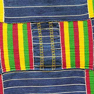 Ancient Kente from Ghana 10.07.1142