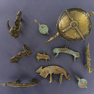 West African Brass Figurines 19.05