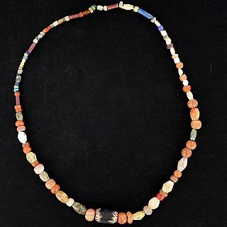 Necklace of old African beads 05.10.1099