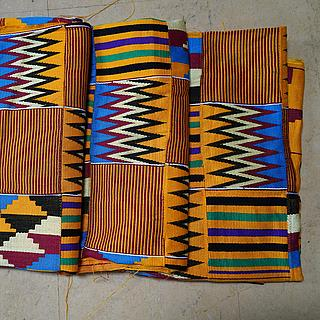 Set of 3 pieces of Kente cloth 10.07.1146