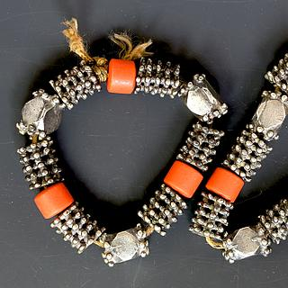 "Pair of Dhofari ""malnaut"" bracelets 03.03.133"