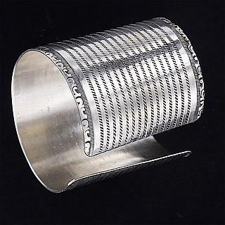 Beautiful Ethiopian silver cuff 02.02.432