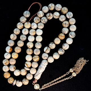Islami rosary with 99 gem beads 05.16.1477