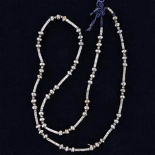 "Necklace with small Ethiopian ""heishi"" beads 02.03.1290"