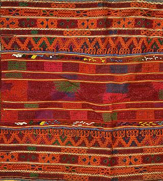 Small embroidered tablecloth from Central Asia 11.03.1771