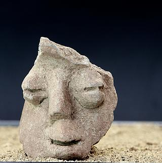 Fragment of vessel with human face?? 22.01.248