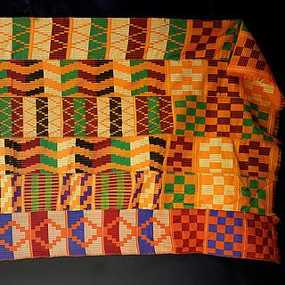 Kente cloth from Ghana 10.07.1150