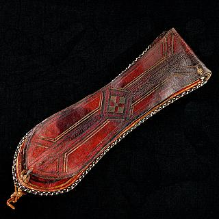 Decorated pipe and tobacco bag,  Tuareg 21.03.1609
