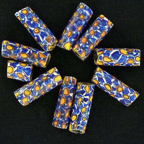 Antique Millefiori Beads 05 01 1483