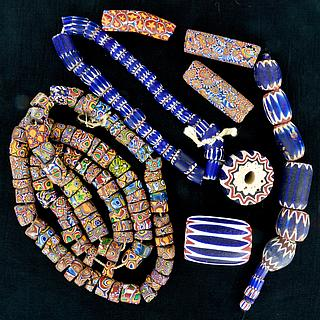 Millefiori & Chevron Beads 05.01