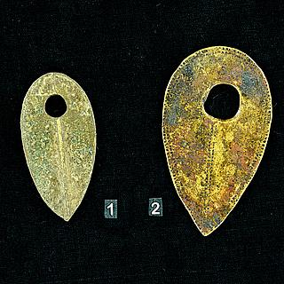 Bronze Pendants from Sidamo, Ethiopia  13.02.1403