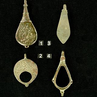 Tatar amulets  from medieval Central Asia 13.02.1395