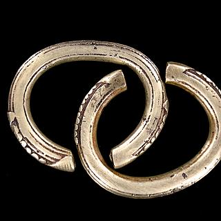 Pair of Sara bracelets from Southern Chad 01.02.819