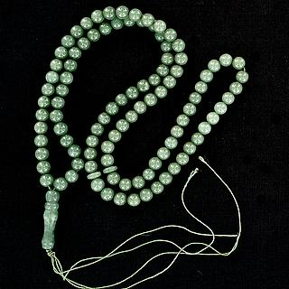 Islamic rosary with green beads 05.16.1467