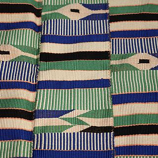 Small kente Cloth from Ghana 10.07.1785